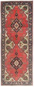 タブリーズ パティナ 絨毯 105X278 オリエンタル 手織り 廊下 カーペット 深紅色の/錆色 (ウール, ペルシャ/イラン)