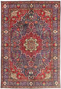タブリーズ 絨毯 200X300 オリエンタル 手織り 深紅色の/濃いグレー (ウール, ペルシャ/イラン)
