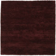 New York - Wine 絨毯 250X250 モダン 正方形 濃い茶色 大きな (ウール, インド)