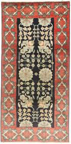 タブリーズ 絨毯 100X207 オリエンタル 手織り (ウール, ペルシャ/イラン)