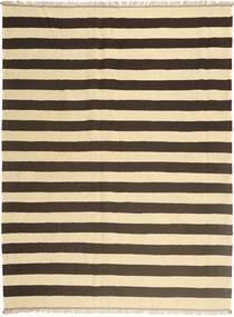 キリム 絨毯 170X230 オリエンタル 手織り ベージュ/濃い茶色 (ウール, ペルシャ/イラン)