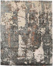 ビスコース モダン 絨毯 243X304 モダン 手織り 薄い灰色/濃いグレー ( インド)