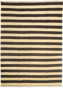 キリム 絨毯 167X235 オリエンタル 手織り 濃いグレー/ベージュ/暗めのベージュ色の (ウール, ペルシャ/イラン)