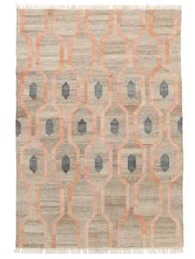 屋外カーペット Cosmou - Coral 絨毯 200X300 モダン 手織り 薄い灰色/ホワイト/クリーム色 ( インド)