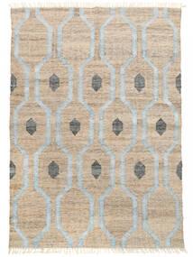 屋外カーペット Cosmou - 薄い 青 絨毯 170X240 モダン 手織り 薄い灰色/ホワイト/クリーム色 ( インド)