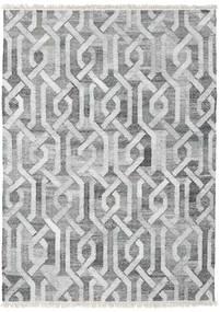 屋外カーペット Trinny - ダーク グレー/グレー 絨毯 170X240 モダン 手織り 薄い灰色/ホワイト/クリーム色 ( インド)
