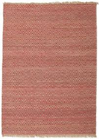 屋外カーペット Jaque Jute 絨毯 170X240 モダン 手織り 深紅色の/茶 ( インド)
