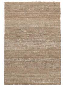 Sahara Jute 絨毯 140X200 モダン 手織り 薄い灰色/ベージュ ( インド)