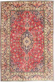 タブリーズ 絨毯 194X290 オリエンタル 手織り 錆色/濃いグレー (ウール, ペルシャ/イラン)