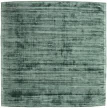 Tribeca - グリーン 絨毯 250X250 モダン 正方形 深緑色の/緑色/パステルグリーン 大きな ( インド)