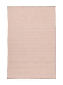 キリム ルーム - ミスティピンク 絨毯 200X300 モダン 手織り ライトピンク/薄紫色 (ウール, インド)