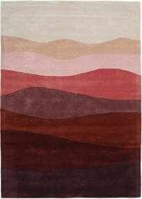 Feeling Handtufted - Wine 絨毯 160X230 モダン 深紅色の/薄い灰色 (ウール, インド)