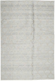 Handtufted 絨毯 160X239 モダン 薄い灰色 (ウール, インド)