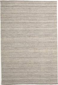 Alva - 茶/白 絨毯 200X300 モダン 手織り 薄い灰色 (ウール, インド)