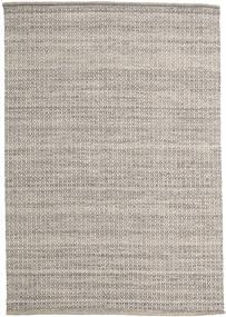 Alva - 茶/白 絨毯 160X230 モダン 手織り 薄い灰色 (ウール, インド)