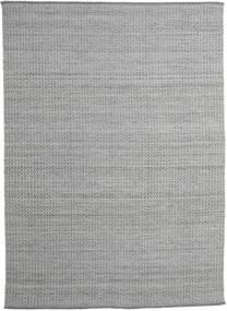 Alva - 濃いグレー/白 絨毯 250X350 モダン 手織り 薄い灰色/濃いグレー 大きな (ウール, インド)