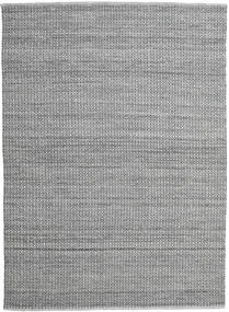 Alva - グレー/黒 絨毯 250X350 モダン 手織り 薄い灰色/濃いグレー 大きな (ウール, インド)