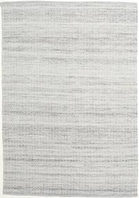 Alva - グレー/白 絨毯 160X230 モダン 手織り 薄い灰色 (ウール, インド)