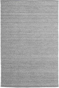 Alva - 濃いグレー/白 絨毯 200X300 モダン 手織り 薄い灰色/濃いグレー (ウール, インド)
