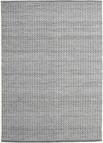 Alva - 濃いグレー/白 絨毯 140X200 モダン 手織り 薄い灰色/濃いグレー (ウール, インド)