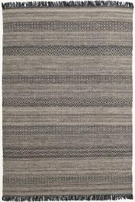Hedda - 茶 絨毯 160X230 モダン 手織り 濃いグレー/薄い灰色 (ウール, インド)