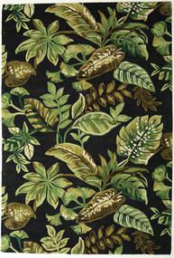 Jungel - グリーン/黒 絨毯 200X300 モダン 深緑色の/オリーブ色 (ウール, インド)