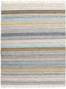 Ester 絨毯 140X200 モダン 手織り 薄い灰色 (ウール, インド)