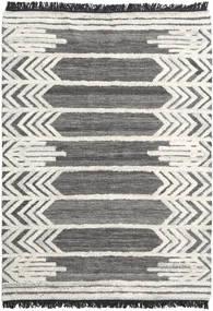 Arrow 絨毯 160X230 モダン 手織り 濃いグレー/暗めのベージュ色の (ウール, インド)