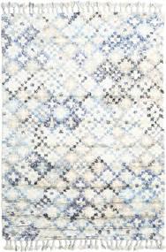 Greta 絨毯 160X230 モダン 手織り ホワイト/クリーム色/ベージュ (ウール, インド)