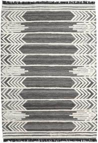 Arrow 絨毯 200X300 モダン 手織り 濃いグレー/暗めのベージュ色の (ウール, インド)