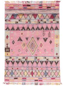 Fanny 絨毯 200X300 モダン 手織り ライトピンク/薄い灰色 (ウール, インド)