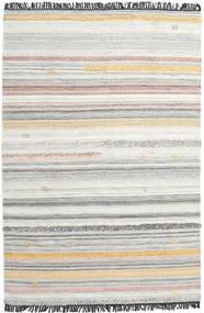 Ragna 絨毯 200X300 モダン 手織り 薄い灰色/暗めのベージュ色の (ウール, インド)