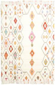 Hulda 絨毯 200X300 モダン 手織り ベージュ/ホワイト/クリーム色 (ウール, インド)