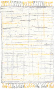 Rakel 絨毯 120X180 モダン 手織り ベージュ/ホワイト/クリーム色 (ウール, インド)