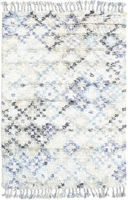 Greta 絨毯 120X180 モダン 手織り ホワイト/クリーム色/ベージュ (ウール, インド)