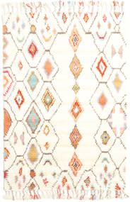 Hulda - Cream 絨毯 120X180 モダン 手織り ベージュ/ホワイト/クリーム色 (ウール, インド)