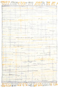 Rakel 絨毯 160X230 モダン 手織り ベージュ/ホワイト/クリーム色 (ウール, インド)