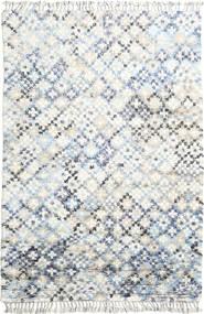 Greta 絨毯 200X300 モダン 手織り ホワイト/クリーム色/ベージュ (ウール, インド)