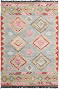 Tyra 絨毯 250X350 モダン 手織り 薄い灰色/濃い茶色 大きな (ウール, インド)