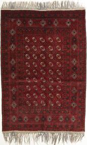 アフガン Khal Mohammadi 絨毯 132X182 オリエンタル 手織り 深紅色の/薄い灰色 (ウール, アフガニスタン)