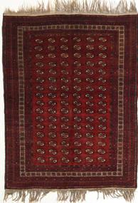 アフガン Khal Mohammadi 絨毯 134X180 オリエンタル 手織り 深紅色の (ウール, アフガニスタン)