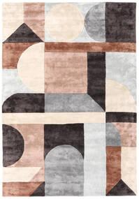 Dovetail - 2018 絨毯 160X230 モダン ベージュ/黒 ( インド)