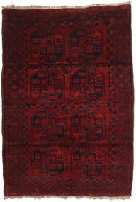アフガン Khal Mohammadi 絨毯 120X173 オリエンタル 手織り 深紅色の (ウール, アフガニスタン)