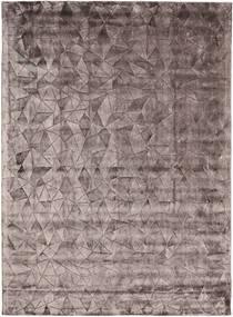 Crystal - Chocolate 絨毯 210X290 モダン 濃い茶色/薄い灰色 ( インド)