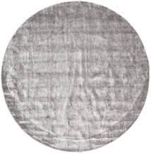 Crystal - ソフトグレー 絨毯 Ø 250 モダン ラウンド 薄い灰色/ベージュ 大きな ( インド)