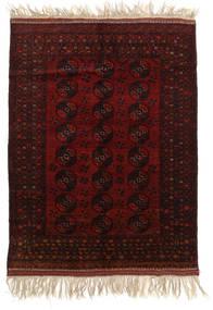 アフガン Khal Mohammadi 絨毯 150X196 オリエンタル 手織り 濃い茶色/深紅色の (ウール, アフガニスタン)