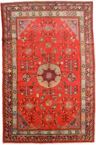 Samarkand ヴィンテージ 絨毯 161X250 オリエンタル 手織り 錆色/深紅色の (ウール, 中国)