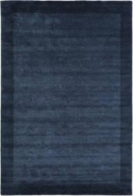 ハンドルーム Frame - 紺色の 絨毯 200X300 モダン 紺色の/青 (ウール, インド)