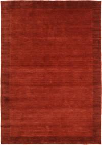 ハンドルーム Frame - 錆色 絨毯 160X230 モダン 錆色/赤 (ウール, インド)