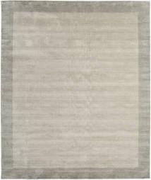 ハンドルーム Frame - Greige 絨毯 250X300 モダン 薄い灰色 大きな (ウール, インド)